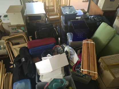 Moving in . . . so much stuff!